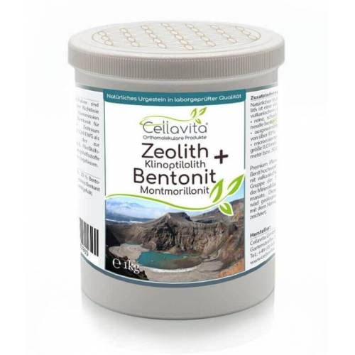 Cellavita Premium Zeolith + Bentonit 1000g Pulver