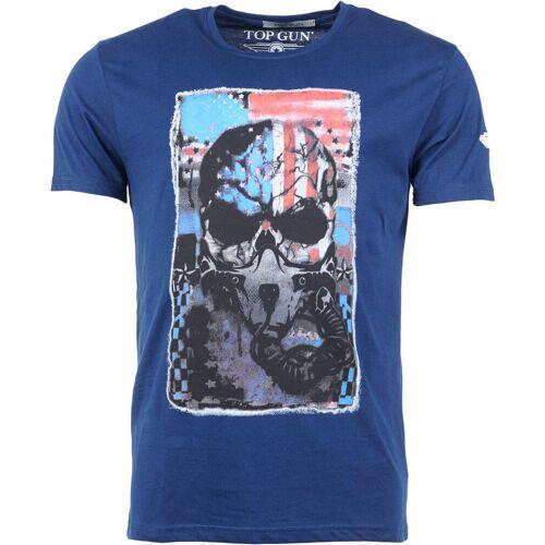 Top Gun Playmaker T-Shirt Herren   - Blau - S