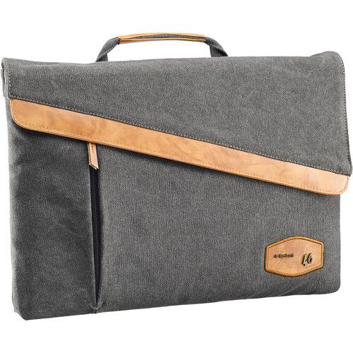 Held Smart Case Laptop Tasche Herren   - Grau/Beige - 26 cm x 22 cm