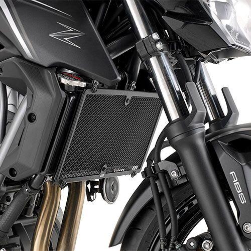 Givi Kawasaki Z 650 Kühlerschutz   - Schwarz - one size
