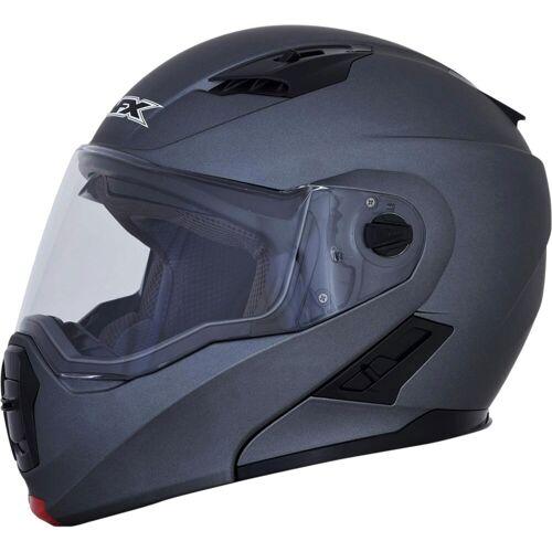 AFX FX-111 Klapphelm   - Matt Grau - XL