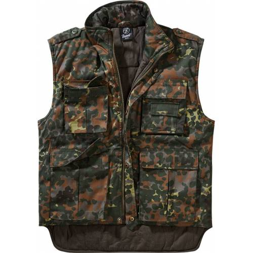 Brandit Ranger Weste Herren   - Flecktarn - XL