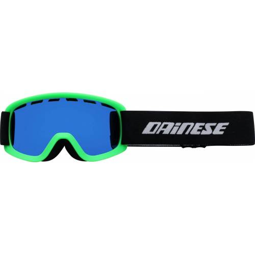 Dainese Opti Skibrille verspiegelt Kinder   - GrüN/Blau Blau-Verspiegelt - one size