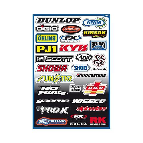 Büse 314 Sponsor Sticker Kit A   - 314 A - one size