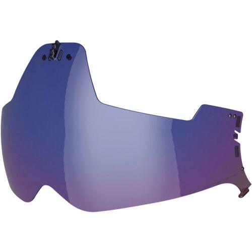 Nexx SX.10 Sonnenblende verspiegelt   - Blau-Verspiegelt - one size