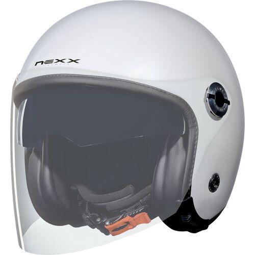 Nexx X.70 Plain Jethelm   - Weiß - XS