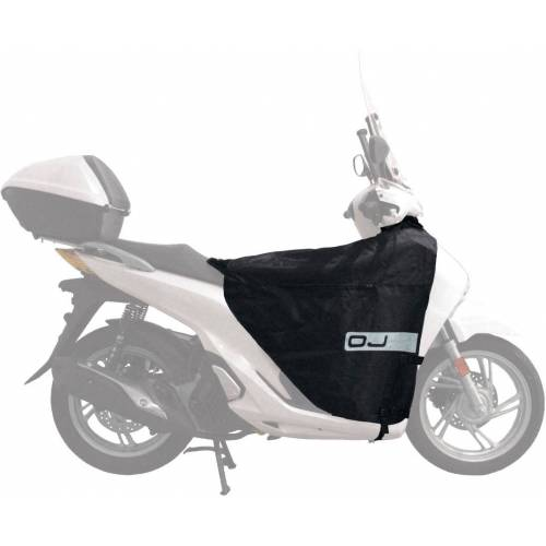 OJ Honda/Kymco/SYM/Piaggio/Yamaha Wetterschutz Pro Herren   - Schwarz - one size