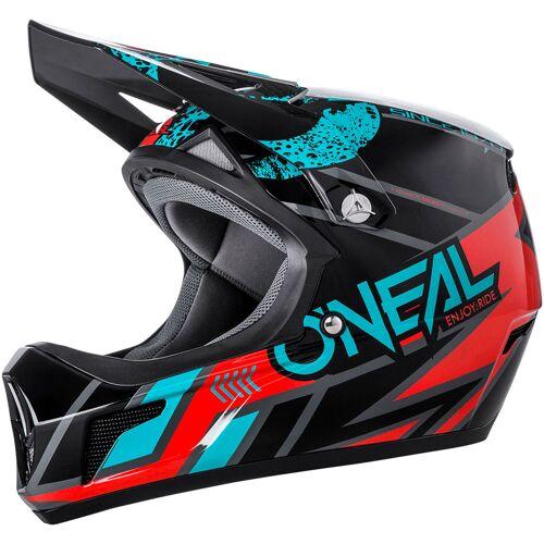 ONeal Sonus S18 Strike Fahrradhelm   - Schwarz/Rot/Blau - XL