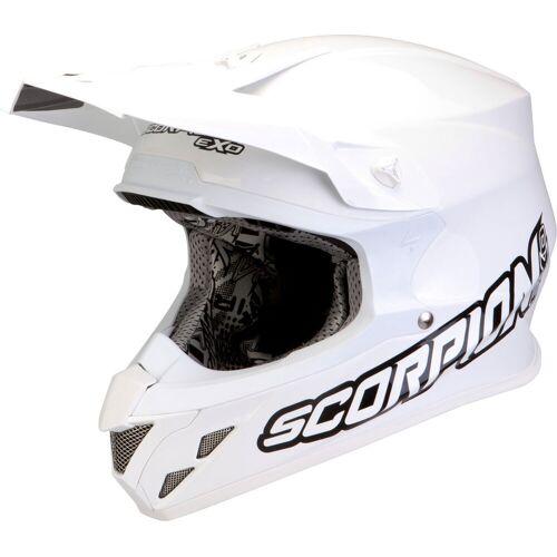 Scorpion VX-20 Air Crosshelm   - Weiß - XL