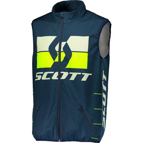 Scott Enduro S19 Weste Herren   - Blau/Gelb - L