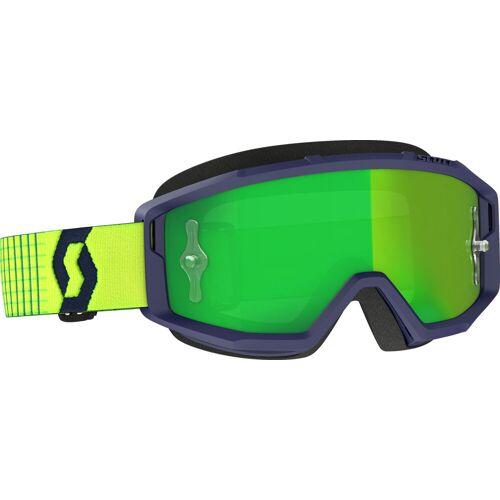 Scott Primal 1054279 S21 Crossbrille verspiegelt Herren   - Blau/Gelb GrüN-Verspiegelt - one size
