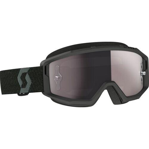 Scott Primal S21 Crossbrille verspiegelt Herren   - Schwarz Silber-Verspiegelt - one size