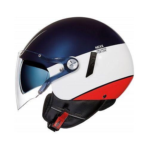 Nexx SX.60 Smart 2 Jethelm   - Blau/Weiß/Rot - XXL