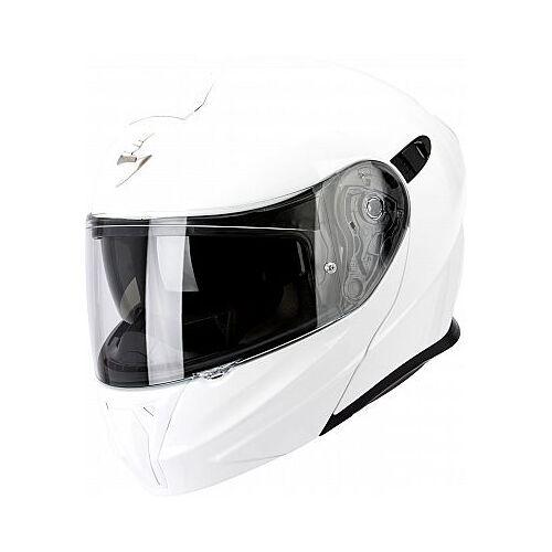 Scorpion EXO-920 Solid Klapphelm   - Weiß - S