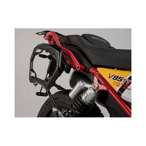 SW-Motech Moto Guzzi V85 TT Kofferträger Pro   - Schwarz - one size