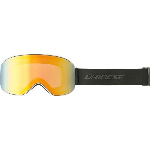 Dainese HP Horizon S20 Skibrille   - Weiß/Orange Gold-Verspiegelt - Einheitsgröße