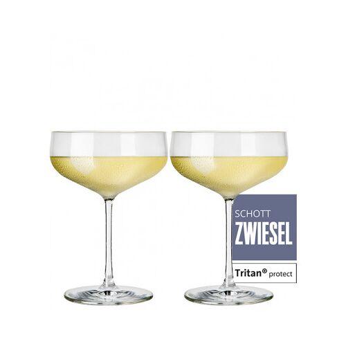 Schott Zwiesel WirWinzer Select  2er-Set Zwiesel Kristallglas Air Champagnerschale
