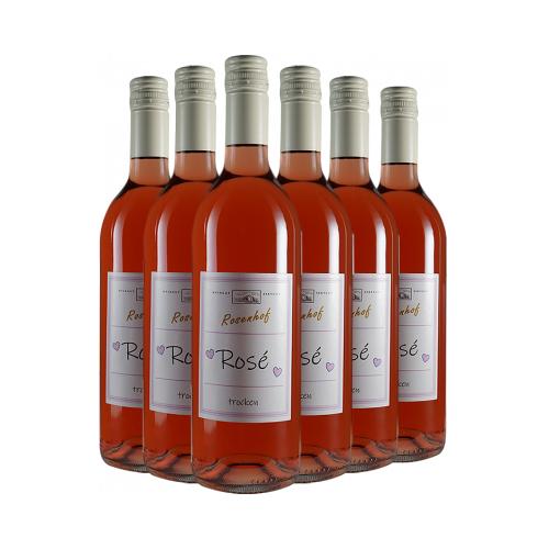 """Wein- und Sektgut Rosenhof Rosenhof  """"RoséPaket mit Herz"""" trocken"""