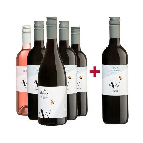 Achs-Wendelin Weine Achs-Wendelin  5+1 Rotwein Entdeckerpaket