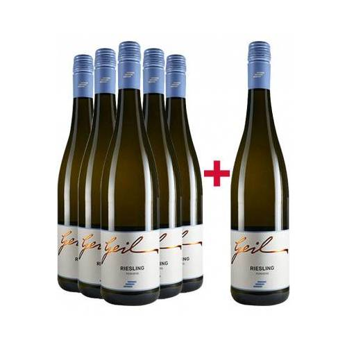 Weingut Helmut Geil Helmut Geil 2019 5+1 Riesling-Paket feinherb