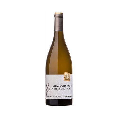 Wein & Hof Hügelheim 2019 Chardonnay & Weissburgunder Hügelheimer Höllberg trocken