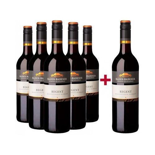 Baden-Badener Weinhaus am Mauerberg 2018 5+1 Regent Rotwein feinherb Paket