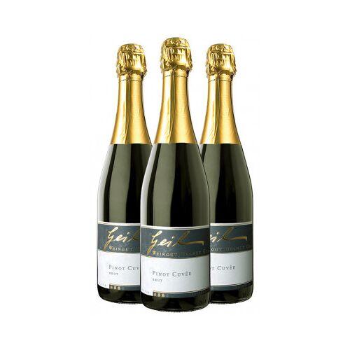 """Weingut Helmut Geil Helmut Geil 2016 """"Pinot Cuvée Sekt Paket"""""""