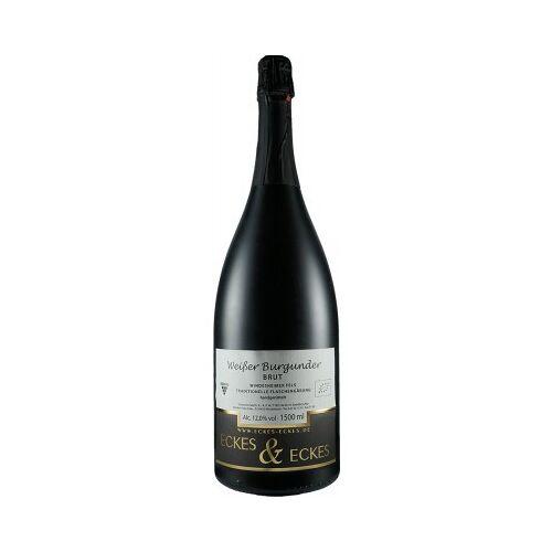 Weingut Eckes & Eckes Eckes & Eckes 2017 Weißer Burgunder Winzersekt 1,5L MAGNUM aus ökologischem Anbau brut 1,5 L
