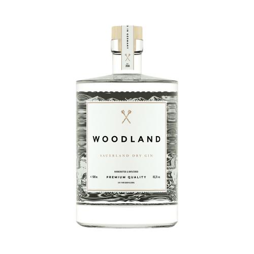 Sauerland Distillers WirWinzer Select   Woodland Sauerland Dry Gin (0,5 L)