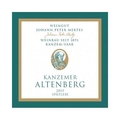 Weingut Johann Peter Mertes Johann Peter Mertes 2015 Kanzemer Altenberg Riesling Spätlese süß
