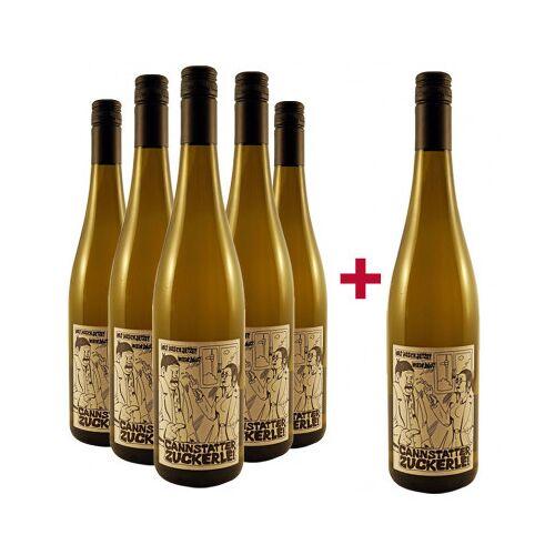 Weingut der Stadt Stuttgart Stadt Stuttgart 2018 5+1 Paket Cannstatter Zuckerle Riesling