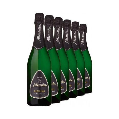 Affentaler Winzer 2018 Riesling Sekt b.A. extra trocken (6 Flaschen)