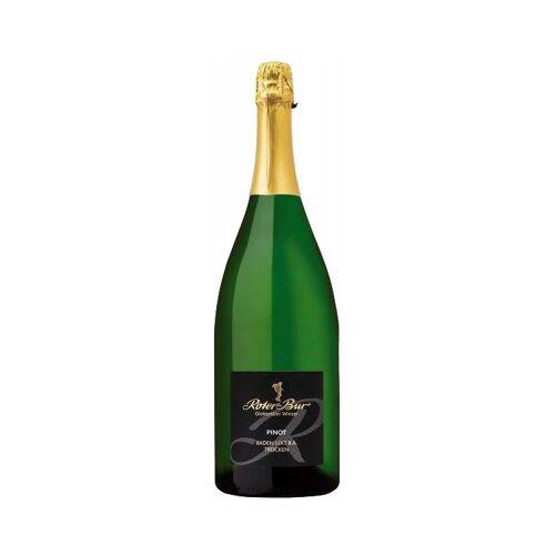 Roter Bur Glottertäler Winzer  Pinot Sekt trocken 1,5 L