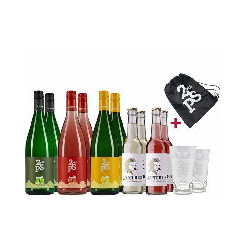 Schorle-Helden  Frühjahrs-Schorle-Paket + Gläser & gratis Kühltasche