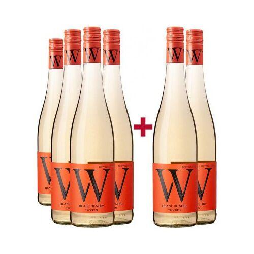Weingut Wasem Doppelstück Wasem Doppelstück 2020 4+2 Paket  Blanc de Noir