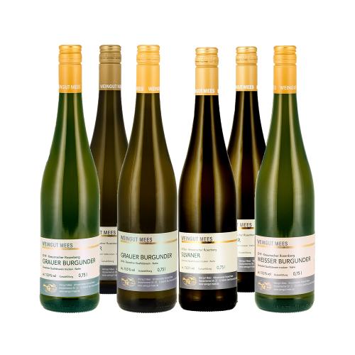 Weingut Mees Mees  Probierpaket Weißwein säurearm