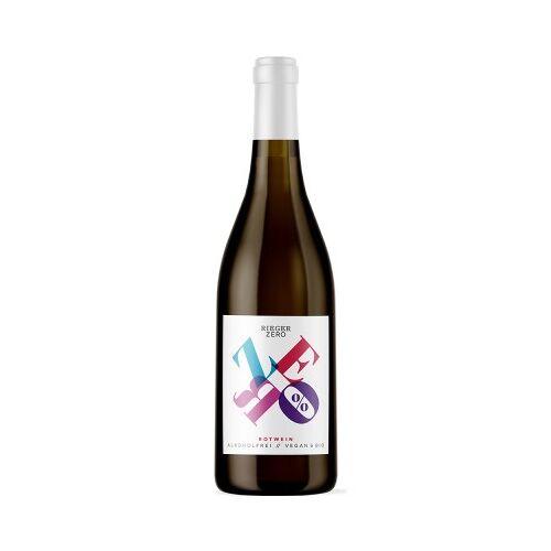 Weingut Rieger Rieger  ZERO Rotwein alkoholfreier Wein