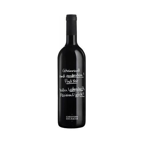 Weingut Christoph Edelbauer Christoph Edelbauer 2016 Pinot Noir