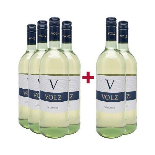Weingut Volz & Sohn Volz & Sohn 2019 4+2 Paket  Scheurebe lieblich 1,0 L