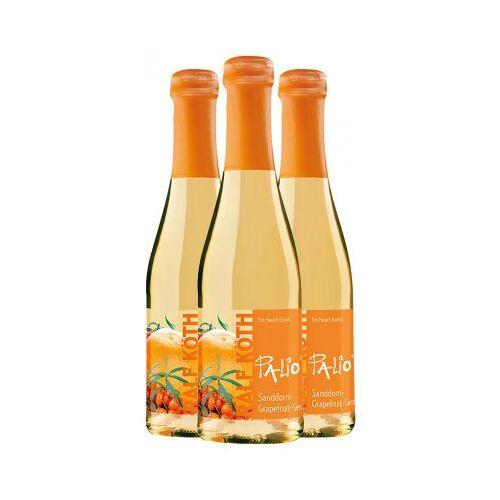 Wein & Secco Köth  3x Palio Sanddorn-Grapefruit-Secco 0,2 L