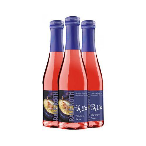 Wein & Secco Köth  3x Palio Pflaume-Secco 0,2 L