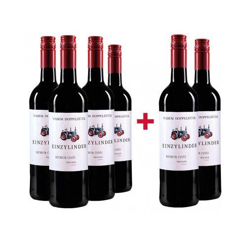 Weingut Wasem Doppelstück Wasem Doppelstück 2016 4+2 Paket Einzylinder Cuvée rot