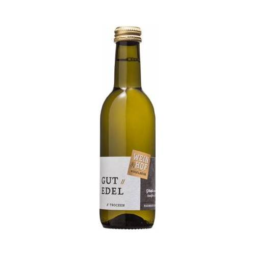 Wein & Hof Hügelheim 2019 3x GUTEDEL trocken 0,25 L