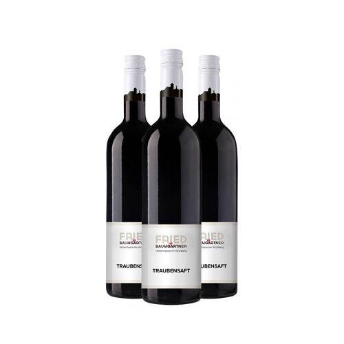 Weingut Fried Baumgärtner FRIED Baumgärtner  3x Traubensaft rot