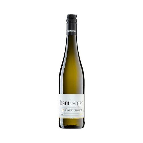 Wein- und Sektgut Bamberger Bamberger 2019 PLAISIR Riesling feinherb