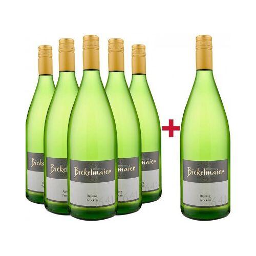 Weingut Manfred Bickelmaier Manfred Bickelmaier 2019 5+1 Paket Riesling 1L trocken