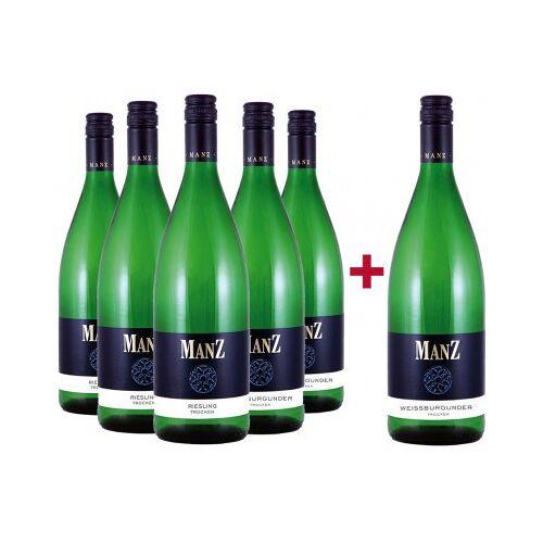 Weingut Manz Manz 2019 5+1 Paket Weiß