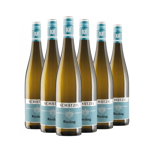"Weingut Schätzel Schätzel 2018 ""Riesling Gutswein-Paket"" trocken"