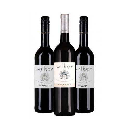 Weingut Wilker Wilker 2015 Kräftiges Rotweinpaket für den Kaminabend