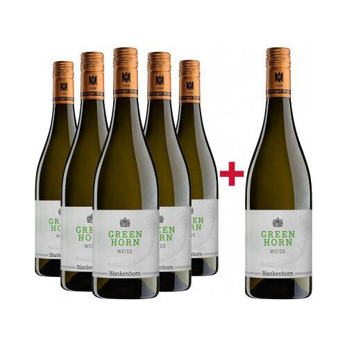 Weingut Blankenhorn Blankenhorn 2018 5+1 GREENHORN Weiß Paket